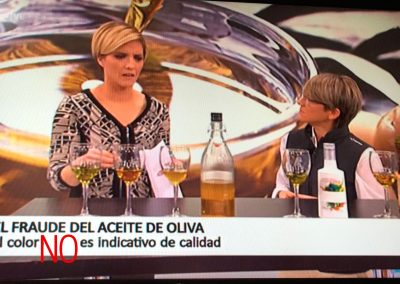 HABLANDO DE ACEITE EN RTVE
