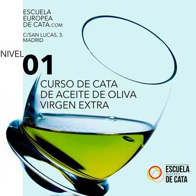 Nivel 1. Curso de Iniciación a la Cata de Aceite de Oliva Virgen Extra