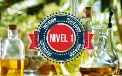 Nivel 1 de 4. Curso de Iniciación a la Cata de Aceite de Oliva Virgen Extra