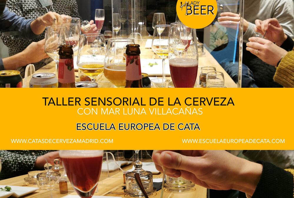 Taller Sensorial de la Cerveza. 19 febrero. 18 a 20h