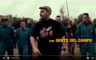 Vareando: Enrique Iglesias en la recolección de aceitunas